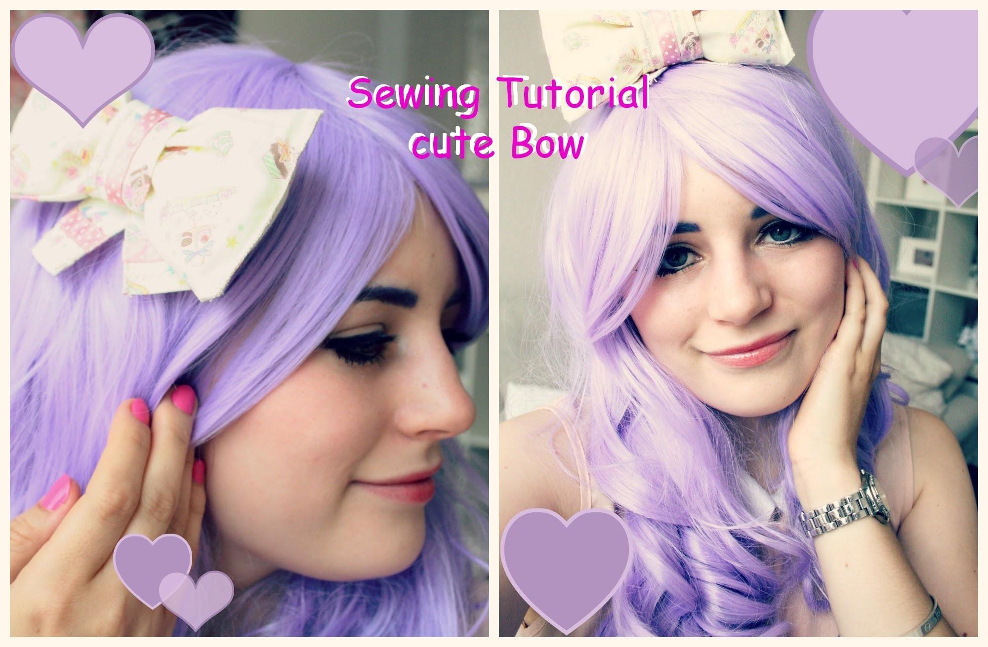 DIY: Schleife fürs Haar (Lolita)
