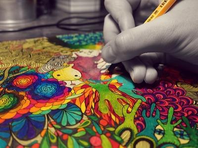 'How To Doodle.Zentangle' - wie ich zeichne! | Gar Nichz