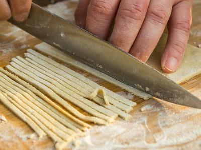 So macht man Buchweizen-Nudeln Rezept glutenfrei und vegan | Der Bio Koch #677