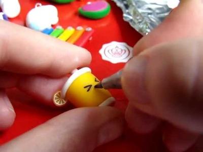 Wie malt man Gesicher auf seine Charms | Anielas Fimo