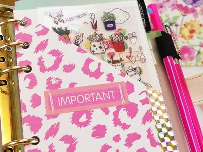 Filofax & Ringbuch Aufbewahrung | Praktische & schöne Idee für euren Kalender | Back to School