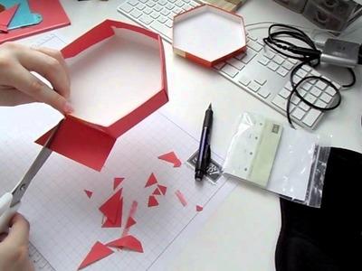 Kreativer Montag 16 - Geschenkbox aus Ferrero Küsschen Verpackung