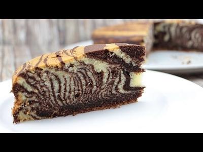 Zebrakuchen - sehr saftig, locker & gelingsicher