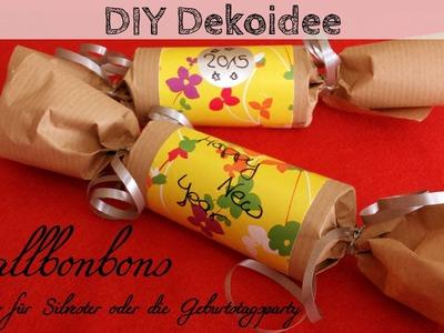 DIY Dekoidee: Knallbonbon selber machen für Silvester oder die Geburtstagsparty