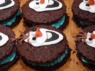 DIY FROZEN Elsa Kekse backen OLAF DER SCHNEEMANN Plätzchen Mini - Torte Buttercreme Teil 1
