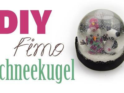 Fimo Schneekugel | DIY Geschenk Ideen #05 | Weihnachts-Serie 2014