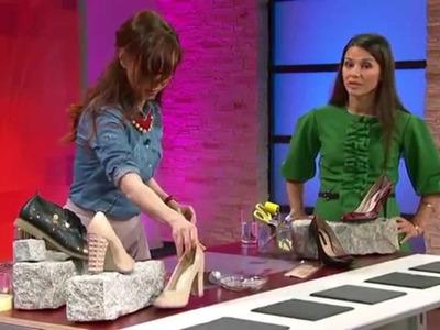Neuer Look für Schuhe | DIY einfach kreativ