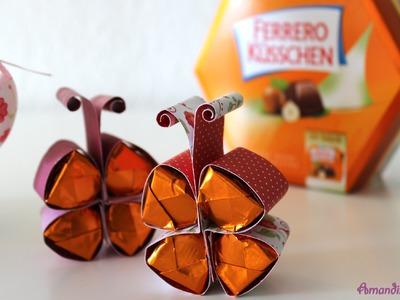 Süße Schmetterlinge mit Ferrero Küsschen | Last Minute Geschenk | DIY