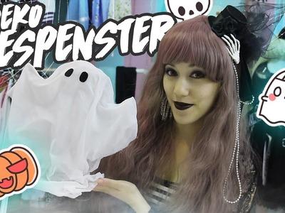 DIY | Halloween GESPENSTER  (∩╹□╹∩)