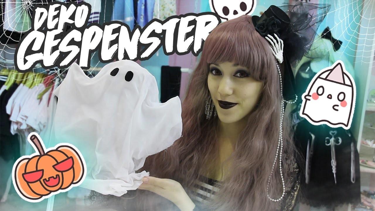 DIY   Halloween GESPENSTER  (∩╹□╹∩)
