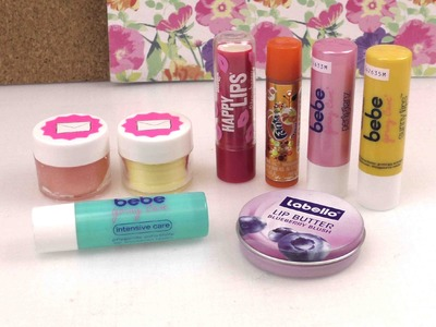 DIY Inspiration - Evas Lippenpflegesammlung