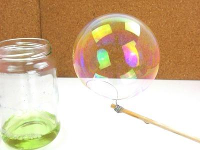 DIY Kids - Seifenblasen selber machen Teil 2. Wie gut funktioniert es nach 24 Stunden?