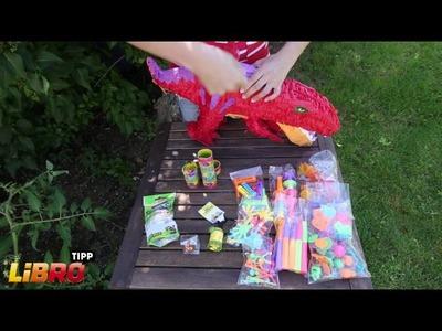 LIBRO Tipp: Piñata basteln und befüllen - DIY Tutorial.Anleitung