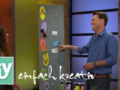 Pinnwand mit Flip-Flop-Motiven | DIY einfach kreativ
