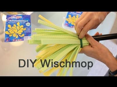 Tipps & Tricks, Wischmop aus Schwammtücher, einfach machen - DIY  make mop of sponge cloths