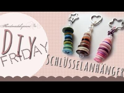 Tutorial-Schlüsselanhänger aus Knöpfen. DIY Friday *Handmadebyanni