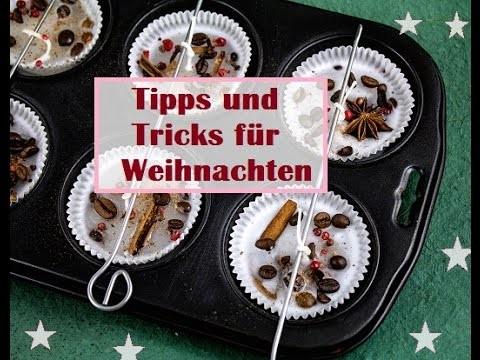 5 geniale DIY-Tricks für Weihnachten und Advent. Anleitungen. Xmas