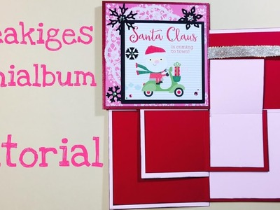 DIY Freakiges Mini Album [ tutorial | deutsch]