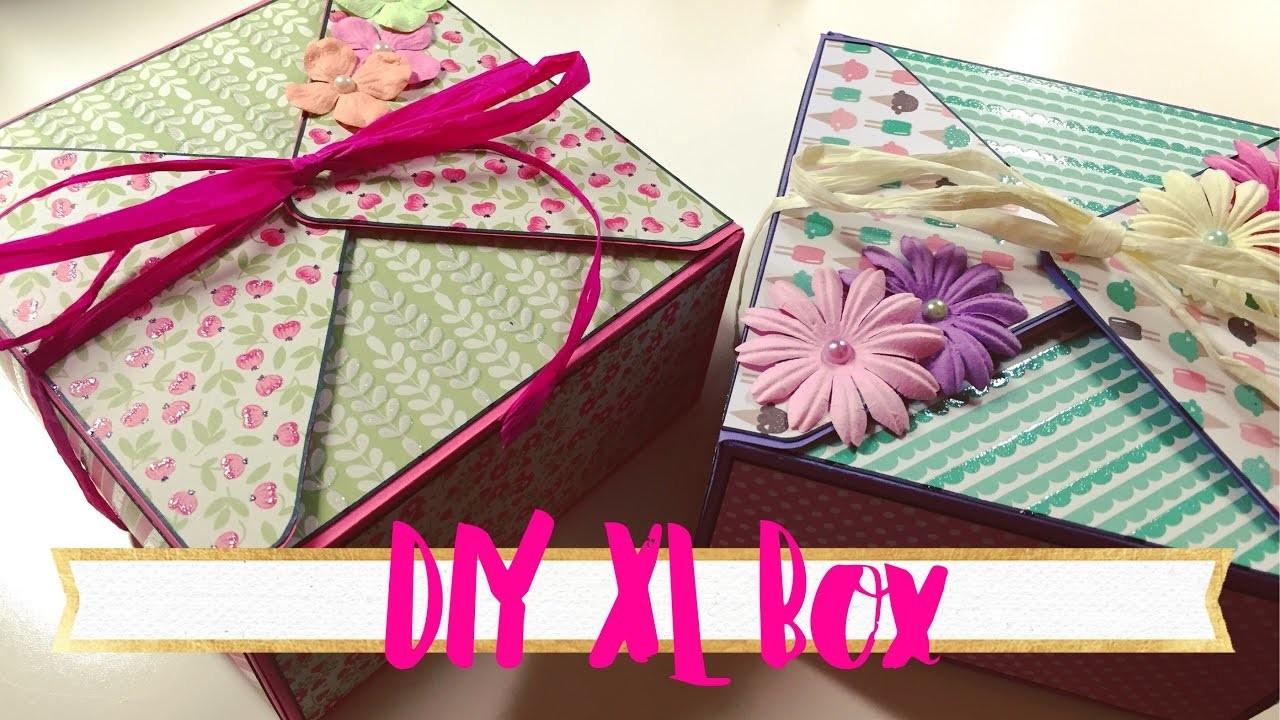 DIY XL Box mit dem Envelope Punch Board [tutorial | deutsch]