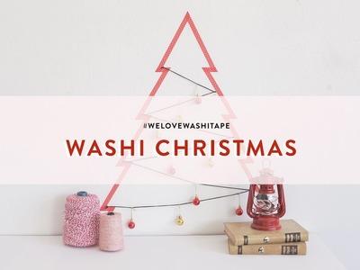 Weihnachtsbaum Washi Christmas | WESTWING DIY-Tipps