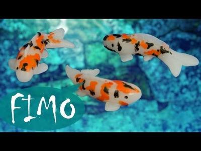 Japanische Koi Karpfen ~ ABC ~ Fimo. Polymerclay. Tutorial