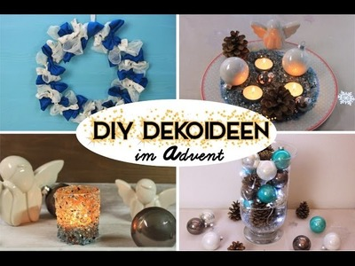 DIY DEKOIDEEN im Advent | LAST MINUTE ROOM DECORATION [deutsch] Adventskalender 2016 #05
