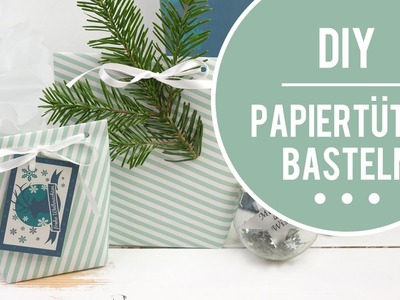 Tüten basteln aus Papier - DIY