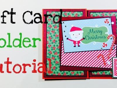 DIY Gift Card Holder [tutorial | deutsch]