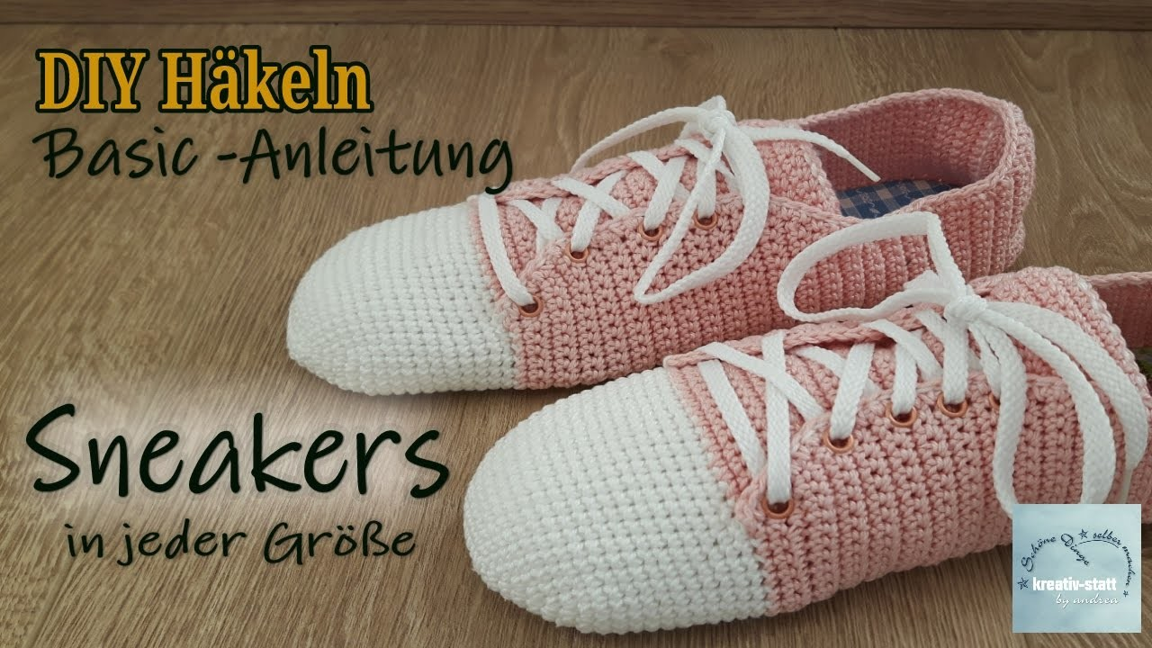 diy h keln basis anleitung sneakers turnschuh how to. Black Bedroom Furniture Sets. Home Design Ideas