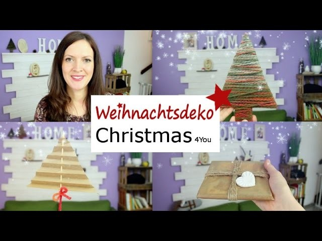 DIY Weihnachtsdeko 2016   Christmas DIY   RebekkasBlog