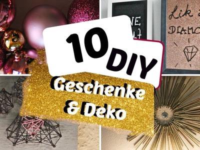 10 DIY Geschenke oder Deko ideen für Weihnachten - DIY GIFT OR DECORATION