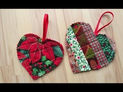 DaIsY´s DIY - Weihnachtsbaumschmuck in Patchworktechnik nähen
