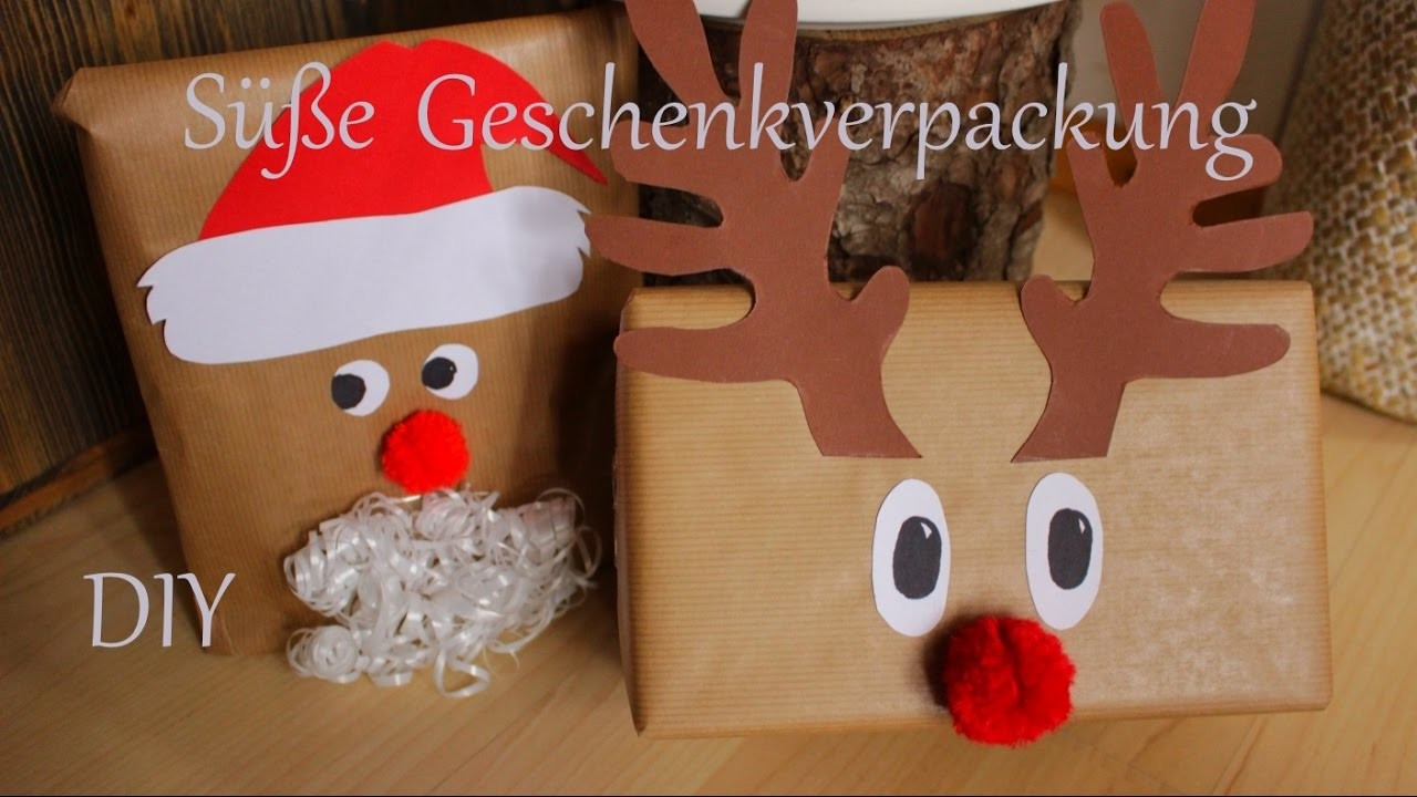 DIY | Süße Geschenkverpackung für Weihnachten | Just Deko
