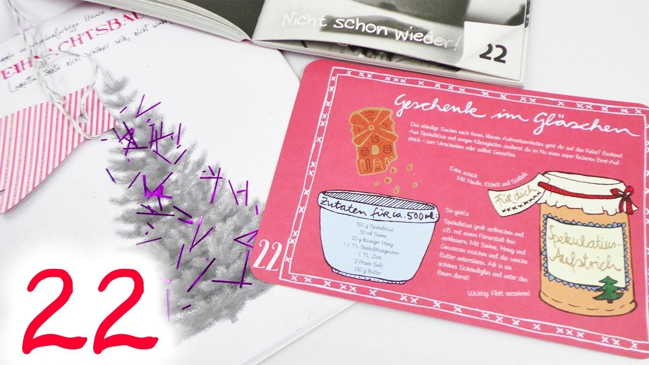 Fertig mach Adventskalender 2016 | TÜRCHEN 22 | DIY Inspiration Adventskalender