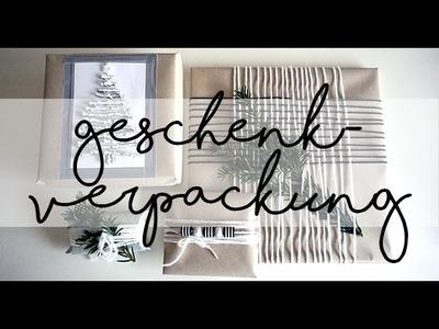 DIY I Geschenke verpacken kreativ, einfach und schnell I Idee no.18