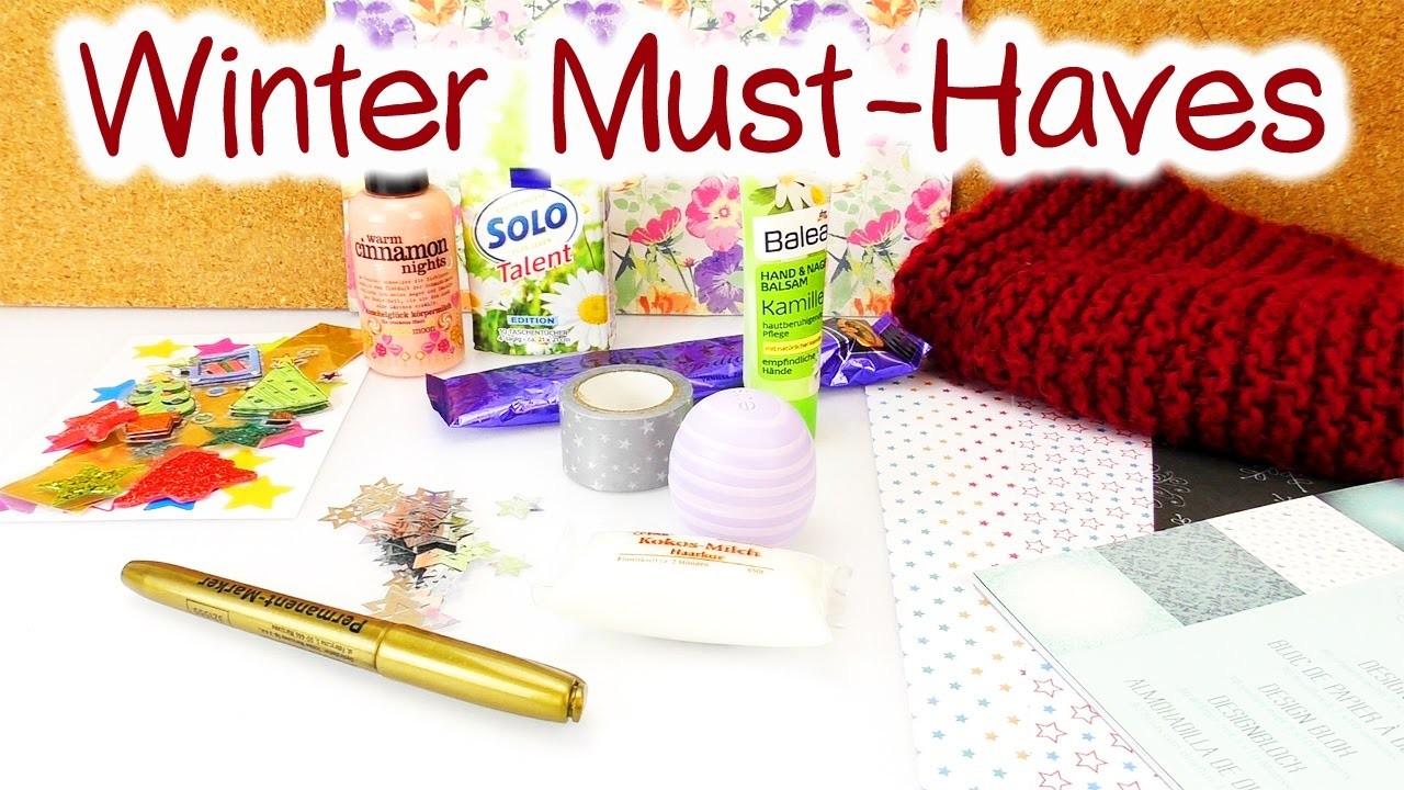 DIY Inspiration Challenge #89 |Winter Must-Haves| Kathis Challenge | DIY Idee Sonntag Challenge