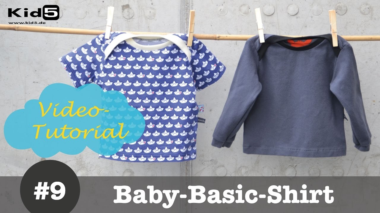 baby shirt mit amerikanischem ausschnitt selber n hen diy n h tutorial. Black Bedroom Furniture Sets. Home Design Ideas