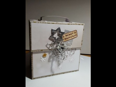 #Scrapbook #Minialbum #Weihnachten #How to