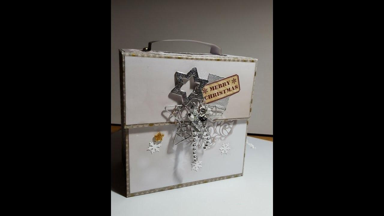 #Scrapbook #Minialbum #Weihnachten #How to
