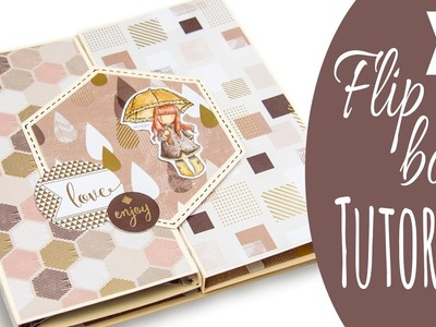 "[Scrapbook Tutorial] XL Flipbook ""Gorjuss Mocha"" 
