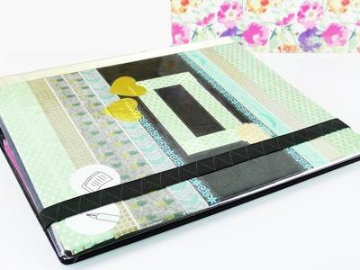 DIY Kalender selber machen (TEIL 3) | Planer gestalten und mit Buchfolie schützen