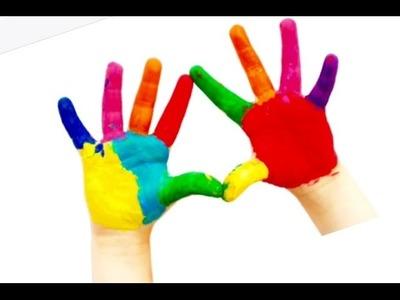 Finger paint - 4 gifts for friends - fingerprint