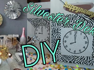 Last minute Silvester Deko I Tipps. DIY