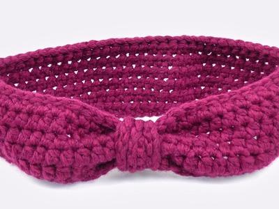 Stirnband im Schleifeln Look | Cooles Stirnband für den Winter Häkeln | Einfache Anleitung