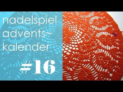Nadelspiel Adventskalender * Dezember 16 * Runde 35