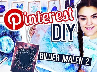 3 PINTEREST DIY's - BILDER MALEN Teil 2 + VERLOSUNG. I'mJette