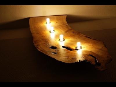 Designer Wandlampe selbst gemacht