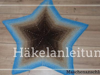 Sternendecke Stella häkeln | Anleitung