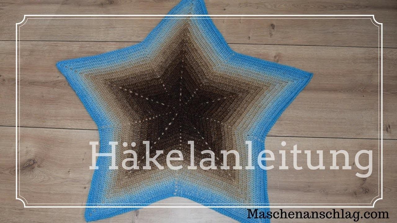 Sternendecke Stella Häkeln Anleitung