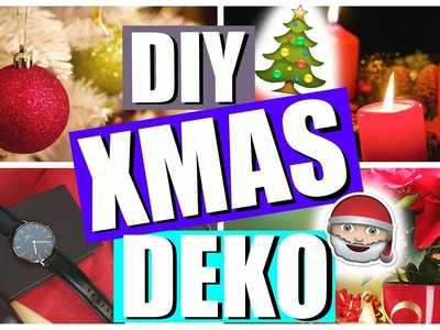 DIY CHRISTMAS DECORATION IDEAS!